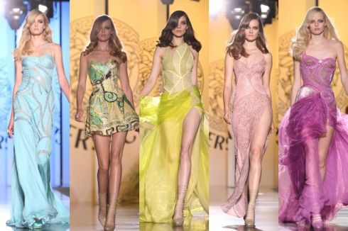 VERSACE+DRESSES
